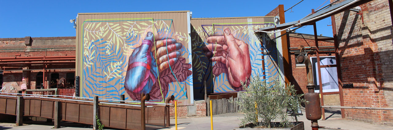 The Mill Castlemaine mural