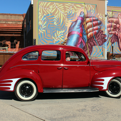 Hot Rods Visit the Mill