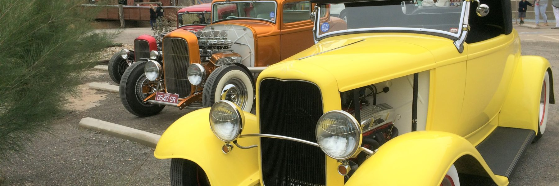 Hot rods at The Mill Castlemaine
