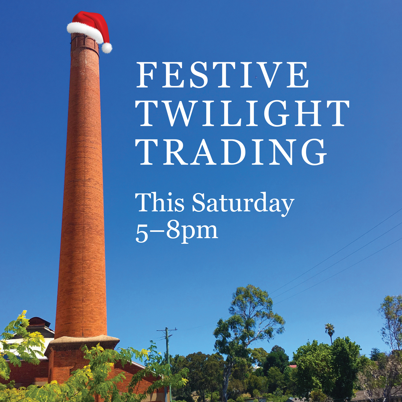 Festive Twilight Trading at The Mill